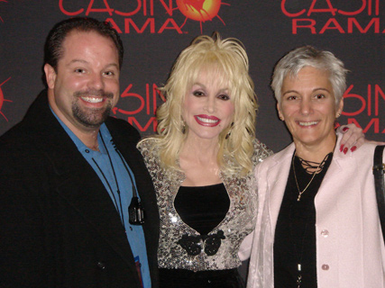 Dolly Parton and Tour Manager Danny Nozell